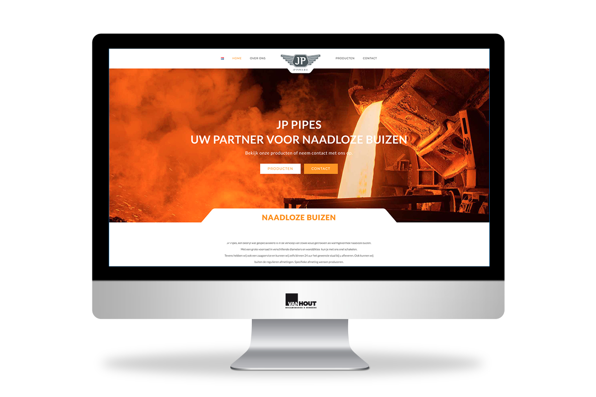 JP Pipes website